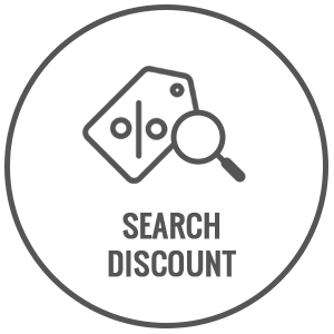 search discounts